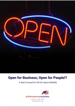 Open for Business Cover border